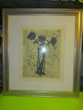 Spare Anemones Richard Spare Artist With Beautiful Frame #2022 Free shipping