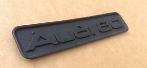 GENUINE AUDI 80 DASHBOARD GLIVE BOX EMBLEM LOGO BADGE