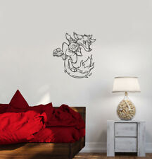 Wall Decal Animal Fox Fantastic Cartoon Fiery Vinyl Sticker (ed785)