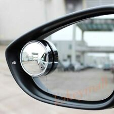 2pcs Car Accessory Rearview Blind Spot Mirror Adjustable Wide Angle Convex Trim