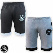 Fleece Fitness Shorts with Drawstring Waist for Men