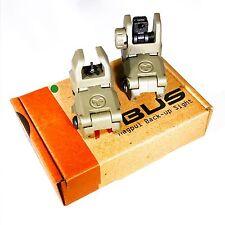 Magpul MBUS Back-up Sights Pts Flip-Up Fold Down Back-up Sights - OD Green