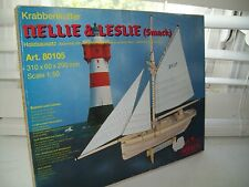 Nellie & Leslie Shrimp Boat Wooden  Kit by Weico NEW