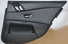 original BMW SERIE 5 E60 E61 Paneles de puerta Trasero Derecha Tela Antracita