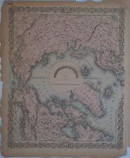 1855 Antique maps Eastern Hemisphere w/ Australia & Northern Regions. Colton