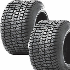 2) 18x6.50-8 18/6.50-8 Riding Lawn Mower Garden Tractor Turf TIRES P332 4ply