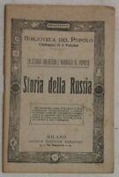 STORIA DELLA RUSSIA ZAR WLADIMIRO TARTARI NICCOLO II