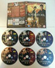 DVD BOX SET - Supernatural The Complete First Season 6 Discs Cert 15 TV Show PAL