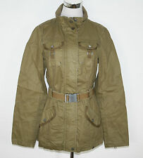 EDC by Esprit Giacca Parka Field Jacket Belmont Beige Cachi Tg. 36 NUOVO UVP 99,99 €