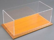"""1:18 Scale Display Case with Solid Wood Base (6"""" X 13"""" X 5"""")"""