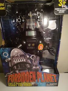 Forbidden Planet Robby The Robot Figure Walking Light & Sound us import new