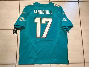 NWT NIKE ELITE Miami Dolphins Ryan Tannehill NFL Jersey Size 52 MSRP $295