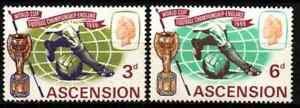 ASCENSION ISLAND 1966 - FOOTBALL WORLDCUP ENGLAND MNH