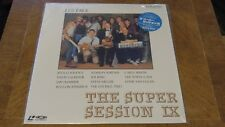 THE SUPER SESSION IX LASERDISC VAL-3100 JAPANESE IN SHRINK VG+ LES PAUL