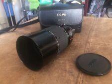 Sigma 600mm F/8