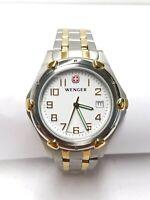 Men's Wenger Standard Issue XL Stainless Steel Watch 73116