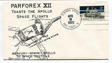 1972 Parforex 12 Toast the Apollo Space Flights Park Mercury Gemini Space Cover