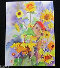 Leanin Tree Thinking Of You Greeting Card Flowers Multi Color R92 Care Concern