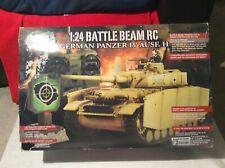 Le FORZE Of Valor 1/24 RC radiocomando Tedesco Panzer Tank # 372001