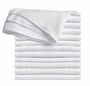 Clips N Grips Birdseye Flatfold Cloth Diapers (White)