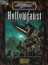 DUNGEONS & DRAGONS D20 SCARRED LANDS - Hollowfaust, City of Necromancer *RPG*