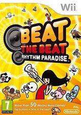 Vencer El Beat: Rhythm Paradise (Nintendo Wii, 2012) Nuevo Sellado