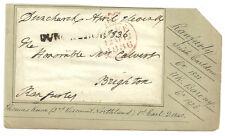 FREE ANTERIORE dunchurch 1836 FREE ANNULLO FIRMATO ranfurly Irlandesi Contea