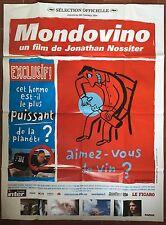 Affiche MONDOVINO Jonathan Nossiter 120x160cm *D
