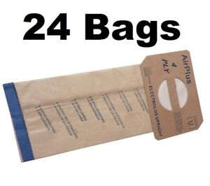24 Bags for Electrolux Style U Hypo Allergen Upright Vacuum Bags