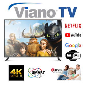 "VIANO 65"" UHD 4K SMART TV - Factory Second 12 Months Warranty  SYDNEY PICKUP"