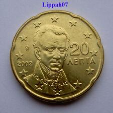 Griekenland / Greece 20 cent 2002 UNC