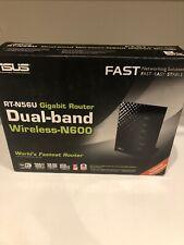 Open Box ASUS RT-N56U Gigabit Router 300 Mbps 4-Port