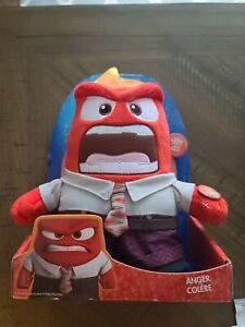 NEW TOMY Disney Pixar Inside Out Talking ANGER COLERE With Sound Plush  Talk