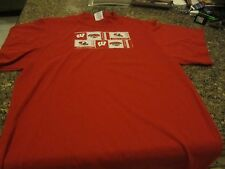 Wisconsin Badgers T-Shirt - Red - Medium - Stitched