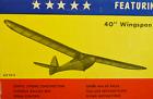 """SIG SINBAD 40, Die Cut, Free Flight Kit, W/S 40"""" TowLine Glider, Untouched"""