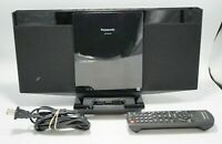 PANASONIC COMPACT STEREO SYSTEM MODEL SC-HC25 W/ Remote | Tested