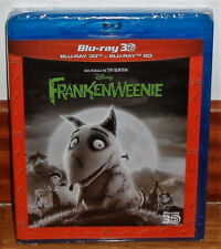 FRANKENWEENIE COMBO BLU-RAY 3D+BLU-RAY NEW DISNEY SEALED (UNOPENED) R2
