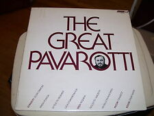 THE GREAT PAVAROTTI-LP-VG-LONDON-INNER ORIGINAL SLEEVE-STEREOPHONIC