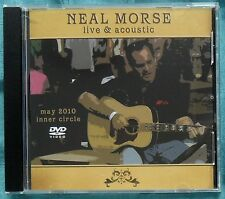Neal Morse Live & Acoustic, Inner Circle DVD May 2010 – Spock's Beard – Mint