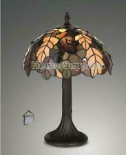 TIFFANY CLASSY HARVEST HANDCRAFTED 12'' TABLE LAMP - IDEAL CHRISTMAS GIFT