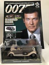 Hispano Suiza James Bond 007 Diecast Car Collection -Moonraker 1979