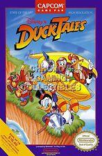 RGC Huge Poster - Duck Tales Original Nintendo NES BOX ART - NES021