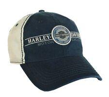 Harley-Davidson® Milwaukee Men's Bar & Shield Blue Baseball Cap Hat BCC21431