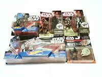 Star Wars Force Awakens Toy LOT Action Figures Hot Wheels Die Cast MicroMachines