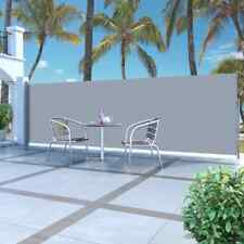 "Retractable Side Awning 63""x196.9"" Privacy Screen Retractable Fence Shade Blind"