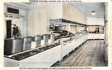 Montreal Canada Traymore Cafeteria Interior Antique Postcard K45568
