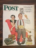 Saturday Evening Post June 3, 1950 That Guy Durocher, Now we have plenty of Oil