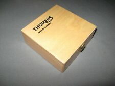Thorens Turntable Stabilizer Storage Wooden Hinged Box w/ Logo for TD160  TD124