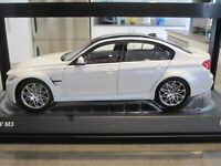 1:18 NOREV 2016 BMW M3 F80 COMPETITION PACKAGE MINERAL WHITE METALLIC *NEW*