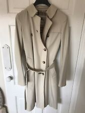 BEAUTIFUL Womens GENUINE BURBERRY Double Breasted Regular TRENCH Coat Mac 8/10